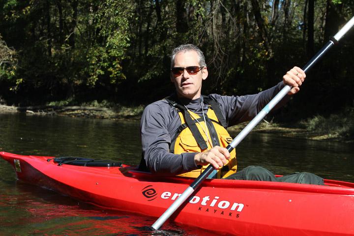 Ben Miller, co-owner of Hershey Kayak Rentals of Hershey