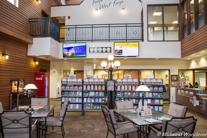 Fargo-Moorhead Visitors Center interior