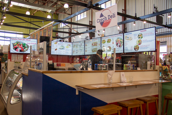 Czech Deli and Bakery, NewBo City Market