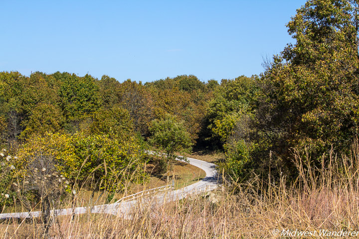 Wilson's Creek Battlefield loop trail