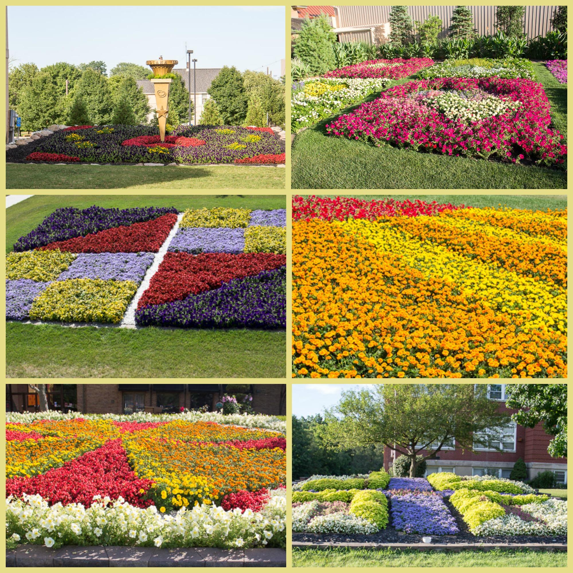 Sampling of Quilt Gardens along the Quilt Garden Tour