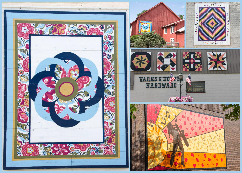 quilt murals