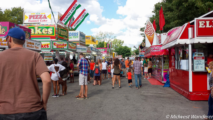 Junk Food Alley at Three Rivers Festival