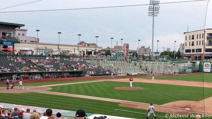Fort Wayne TinCaps ballgame