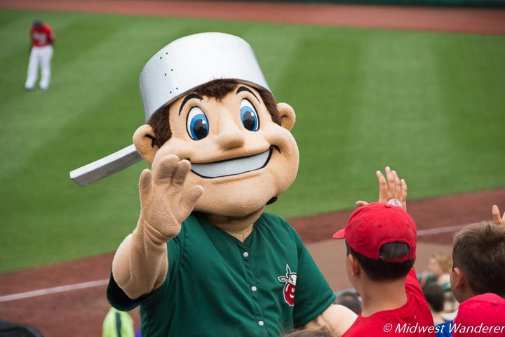 Johnny, Fort Wayne TinCaps mascot