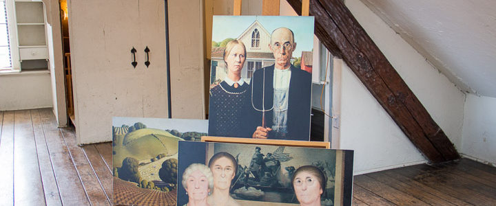 Touring Grant Wood Studio: 'American Gothic' Artist