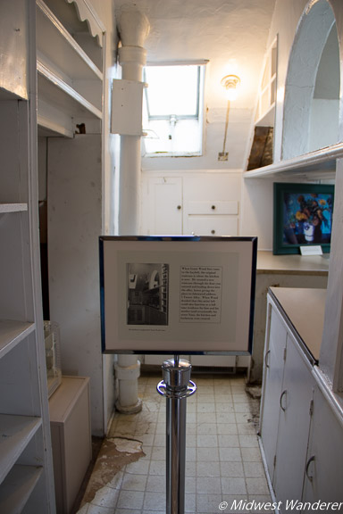 Grant Wood Studio kitchen