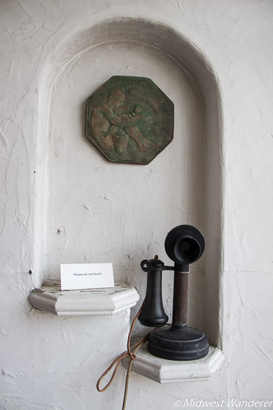 Grant Wood Studio telephone stand