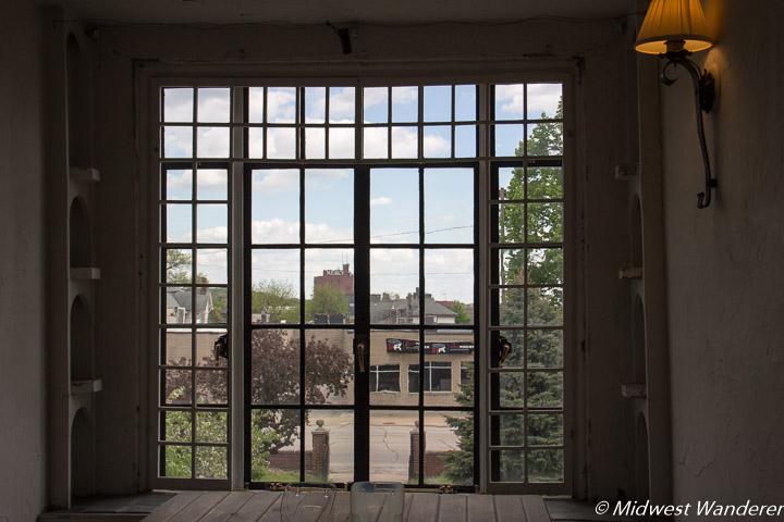 Window in Grant Wood Studio