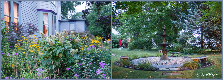 Murphy Guest House gardens