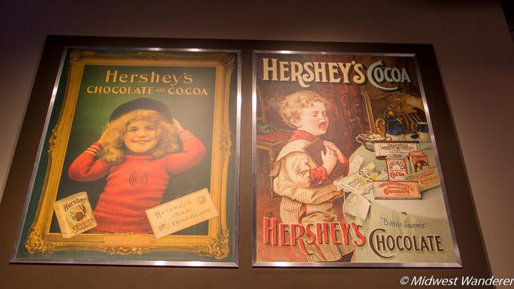 Nostalgic Hershey ads