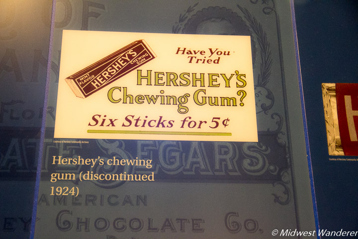 Hershey's Chewing Gum ad
