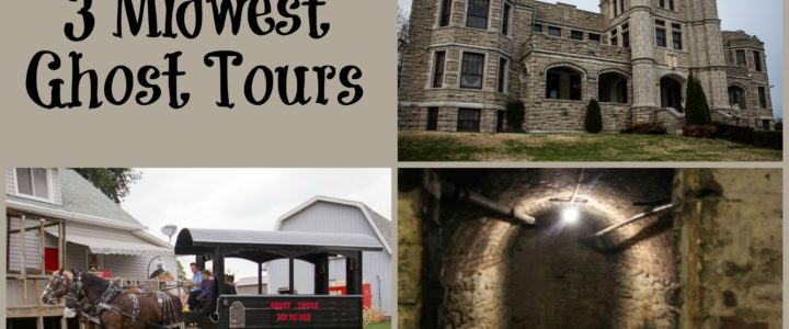 3 Midwest Ghost Tours Set Halloween Mood