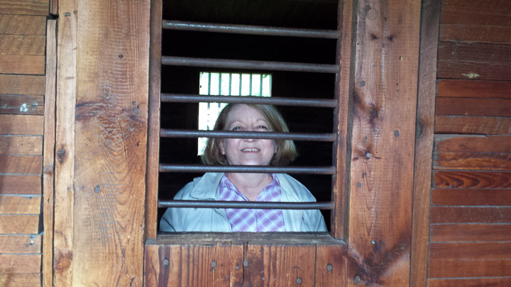 Prairie Village Museum jail