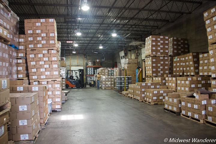 Sechler's Pickles warehouse