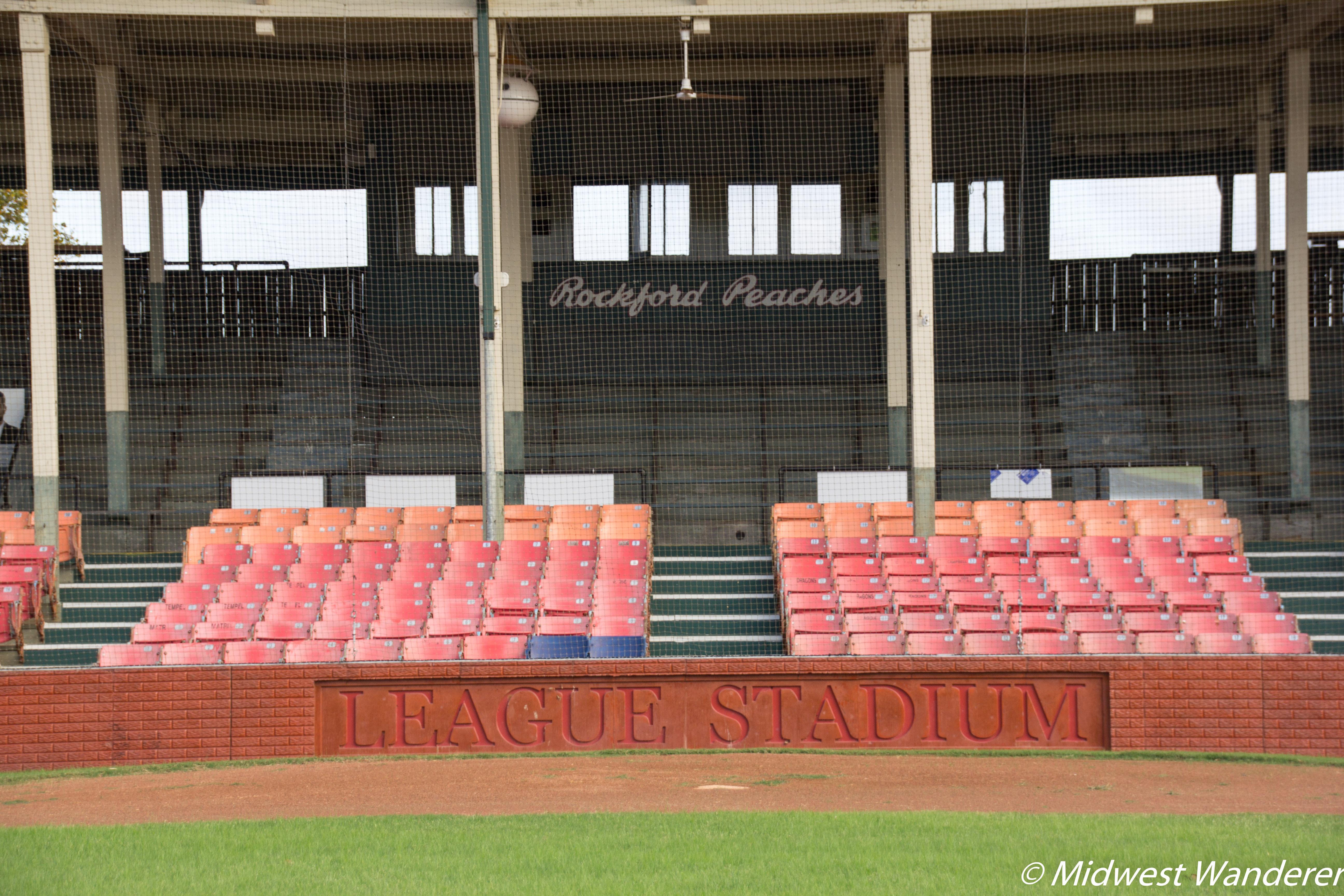 League Stadium - Rockford Peaches