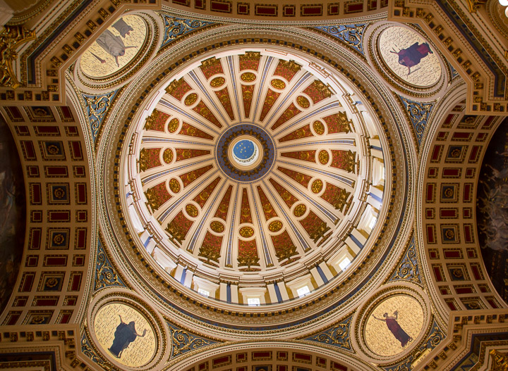 Pennsylvania State Capitol rotunda dome