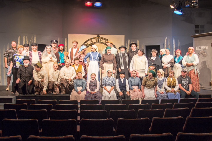 Webster City Community Theatre 'Fiddler on the Roof' cast