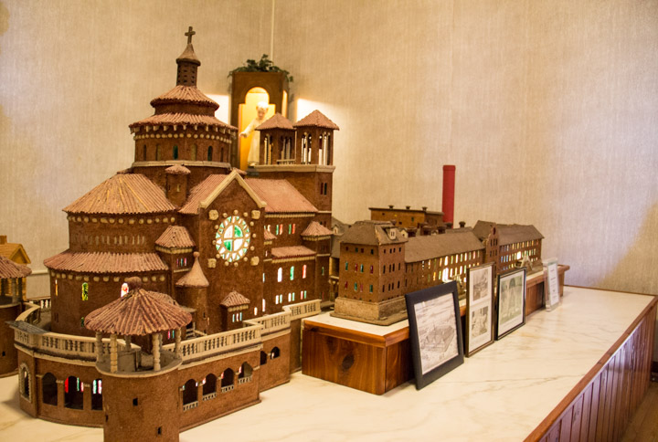 Monastery Immaculate Conception model