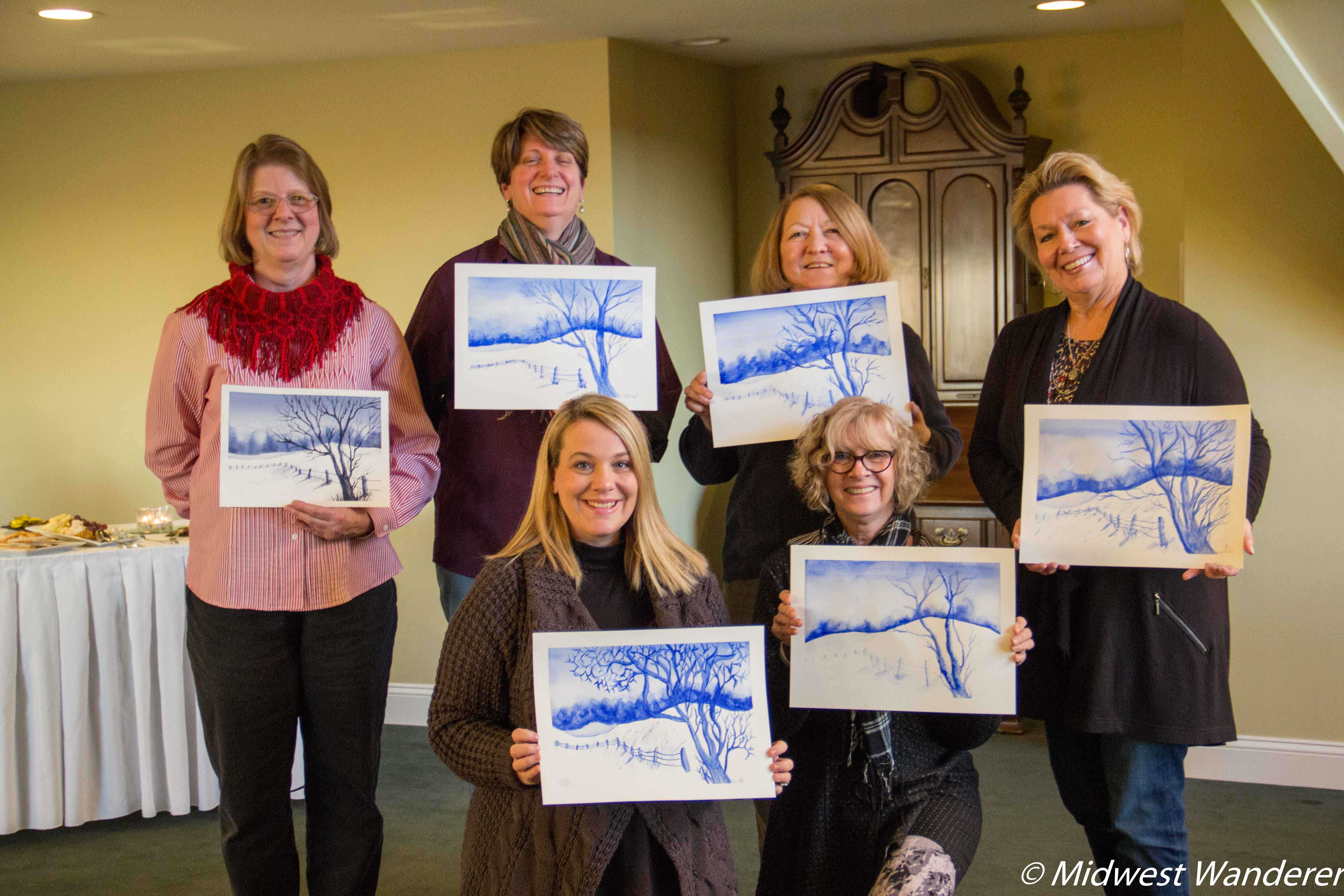 Artists in Residence Watercolor Class