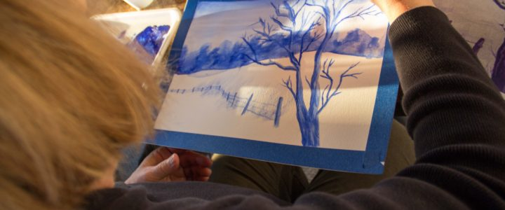 Goldmoor Inn Artists in Residence Teaching January Painting Workshops