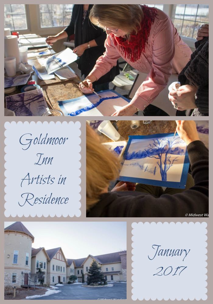 Goldmoor Inn Artists in Residence program