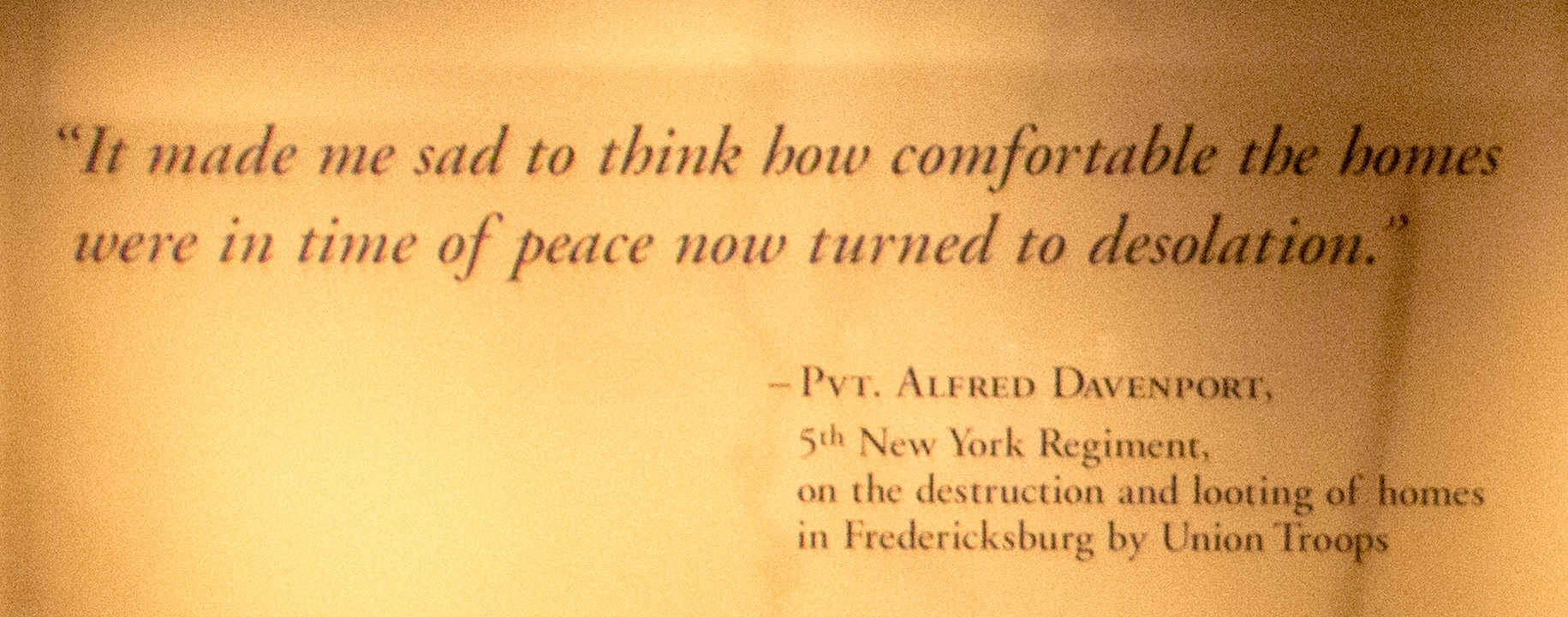 National Civil War Museum quote 2