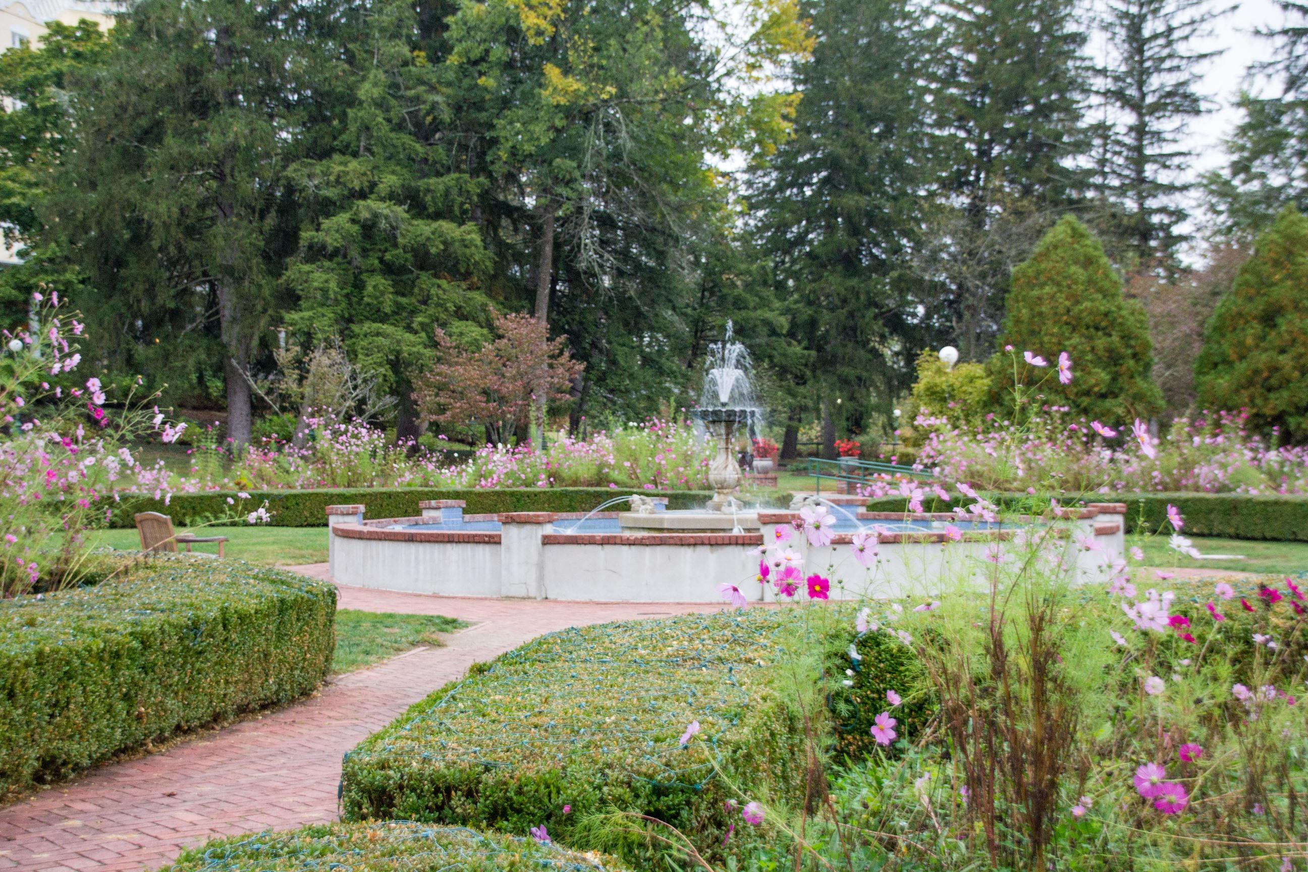 Gardens at West Baden Hotel