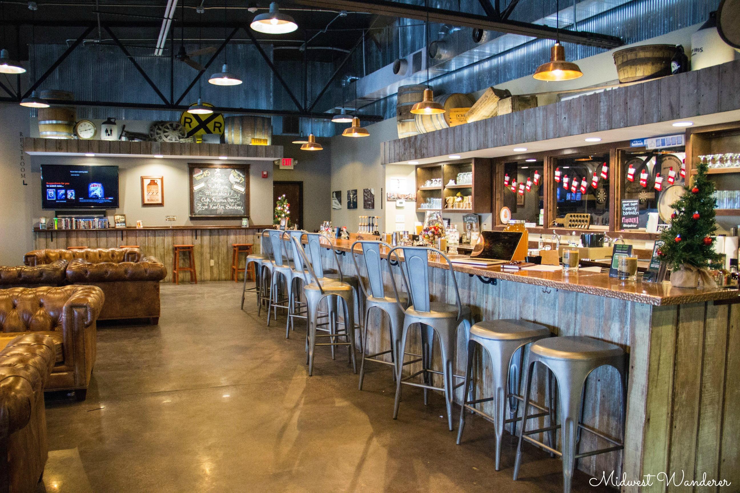 Blaum Bros Distilling Co bar