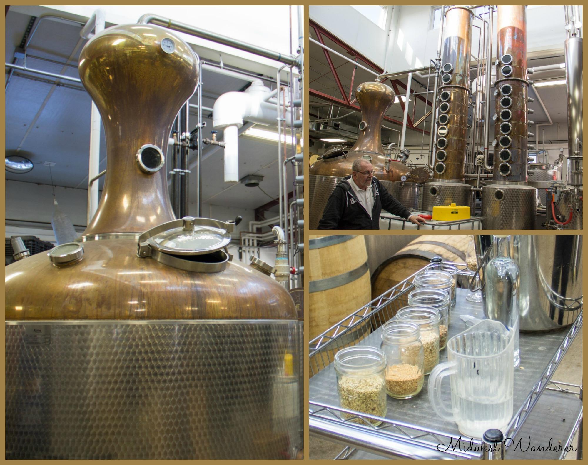 Blaus Bros Distilling Co tour