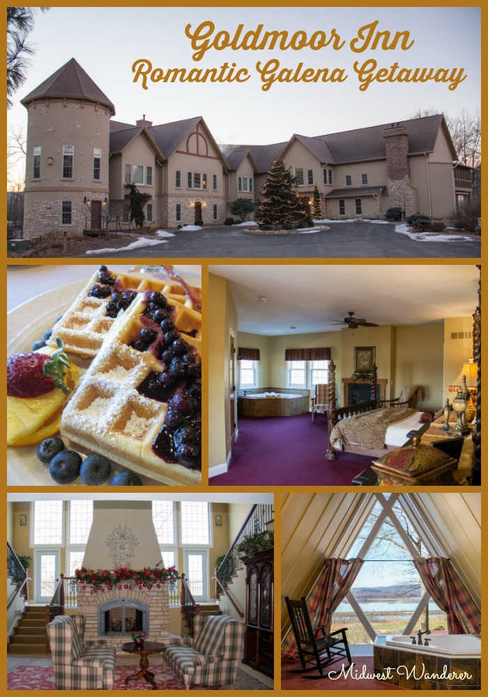 Goldmoor Inn, Luxury Bed and Breakfast overlooking the Mississippi River in Galena Illinois