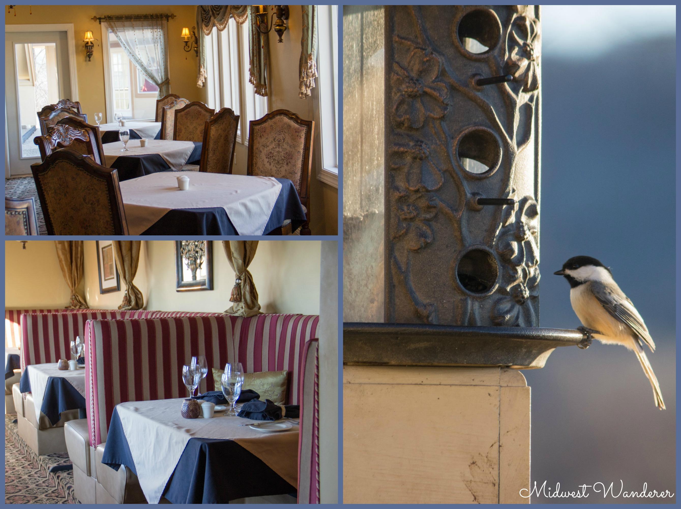 Goldmoor Inn dining room
