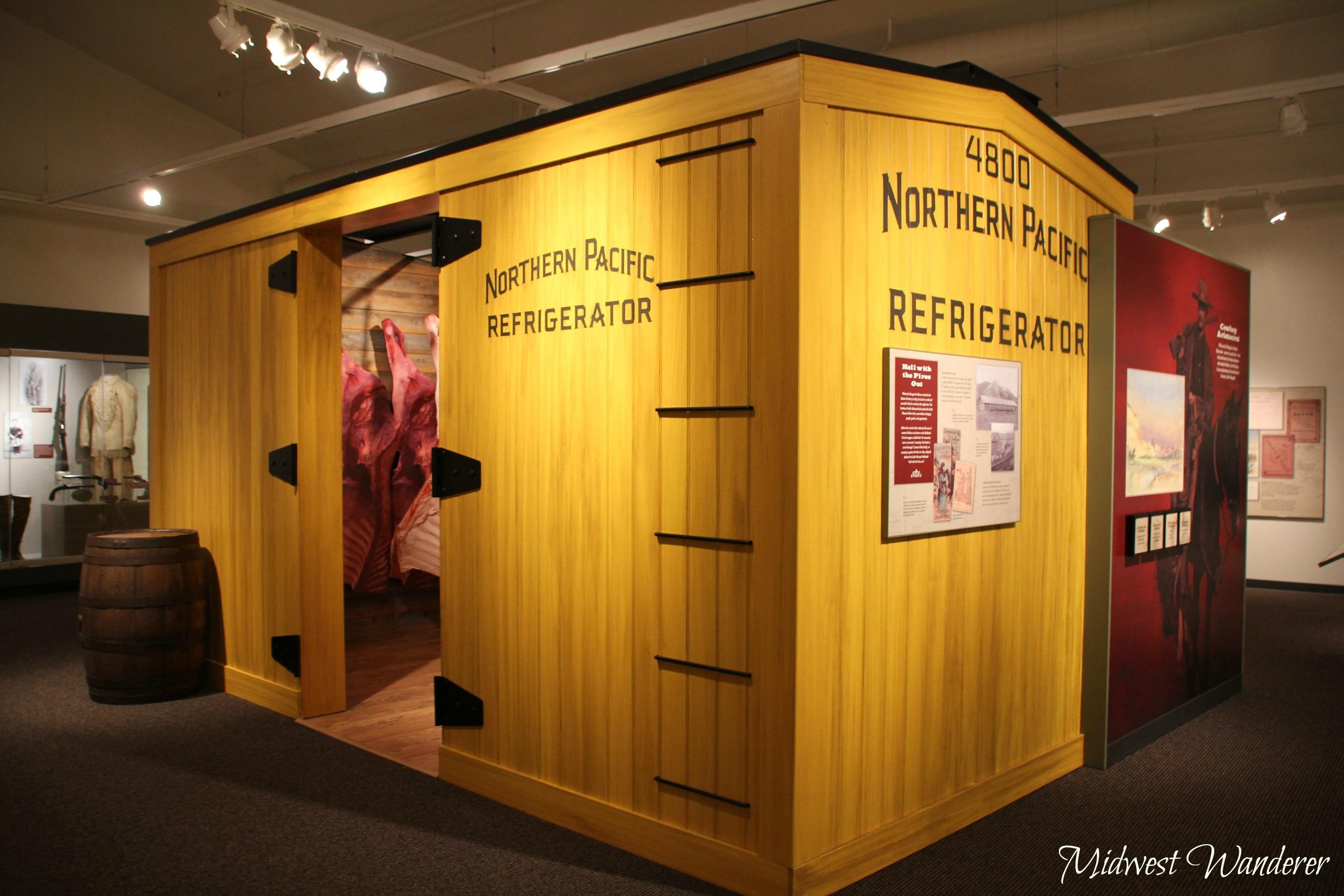 Refrigerated box car