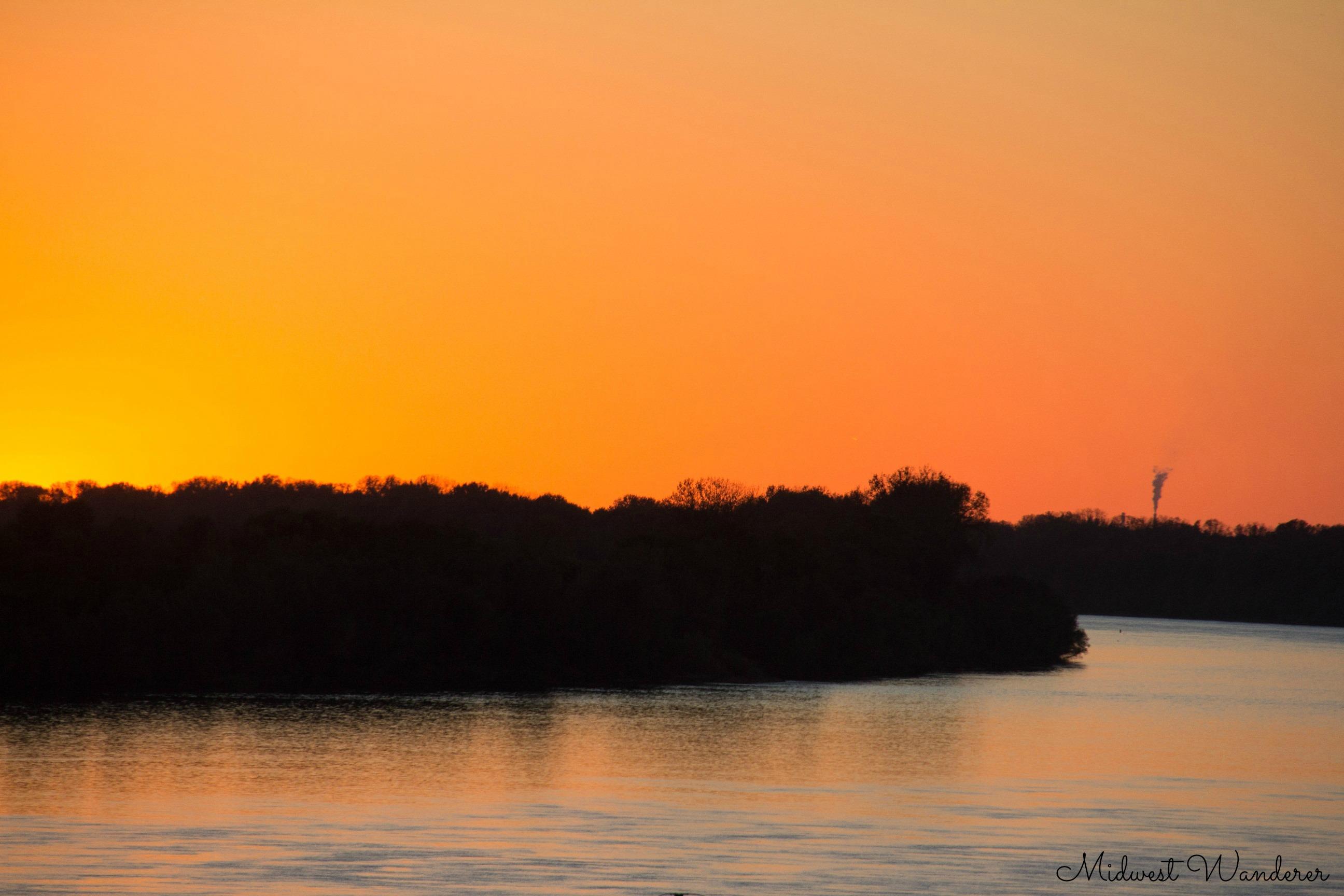 Sunrise in Newburgh Indiana