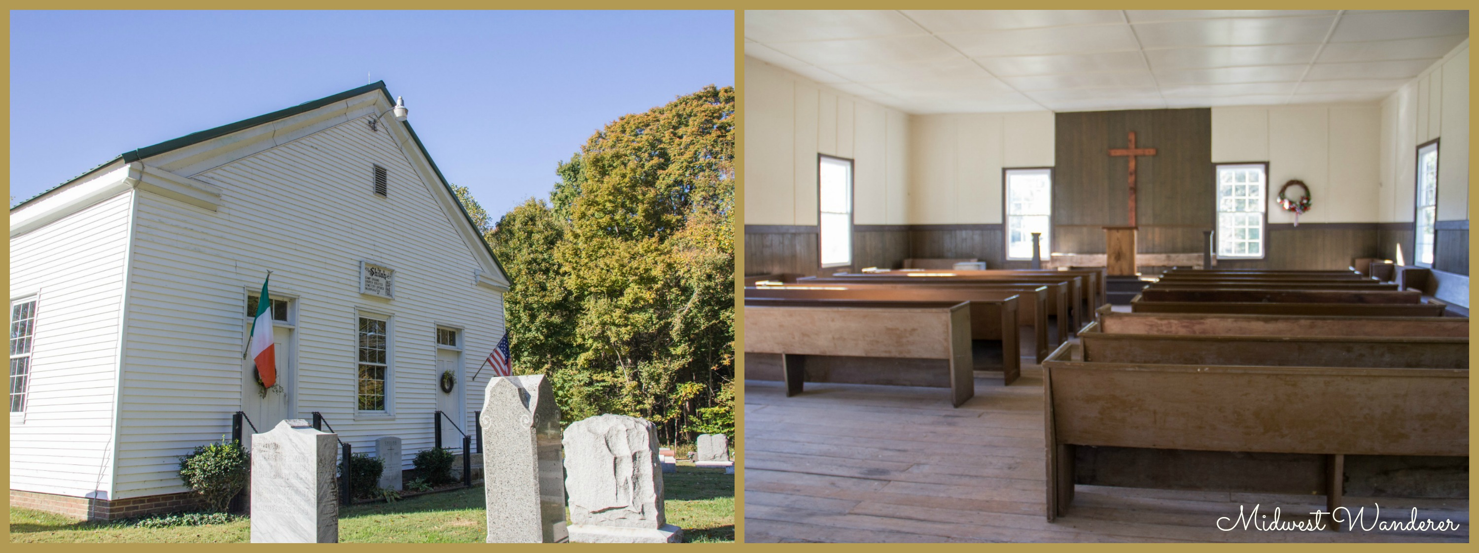 Trail of Faith - Shiloh Meeting House