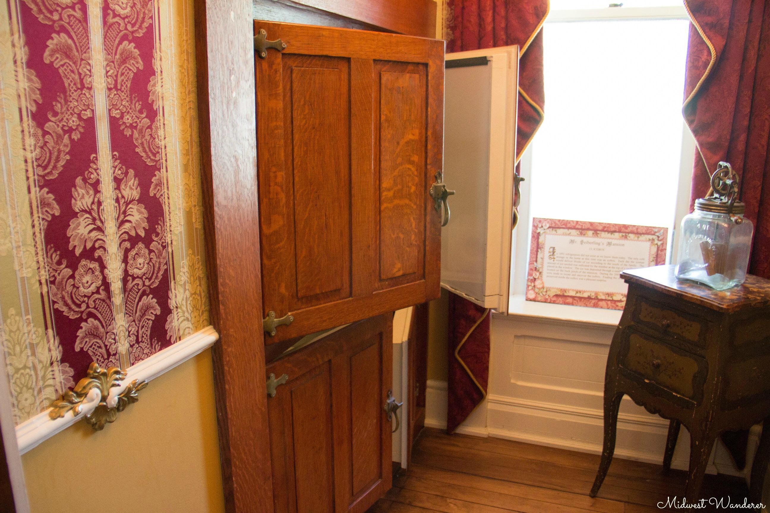 Seiberling Mansion icebox