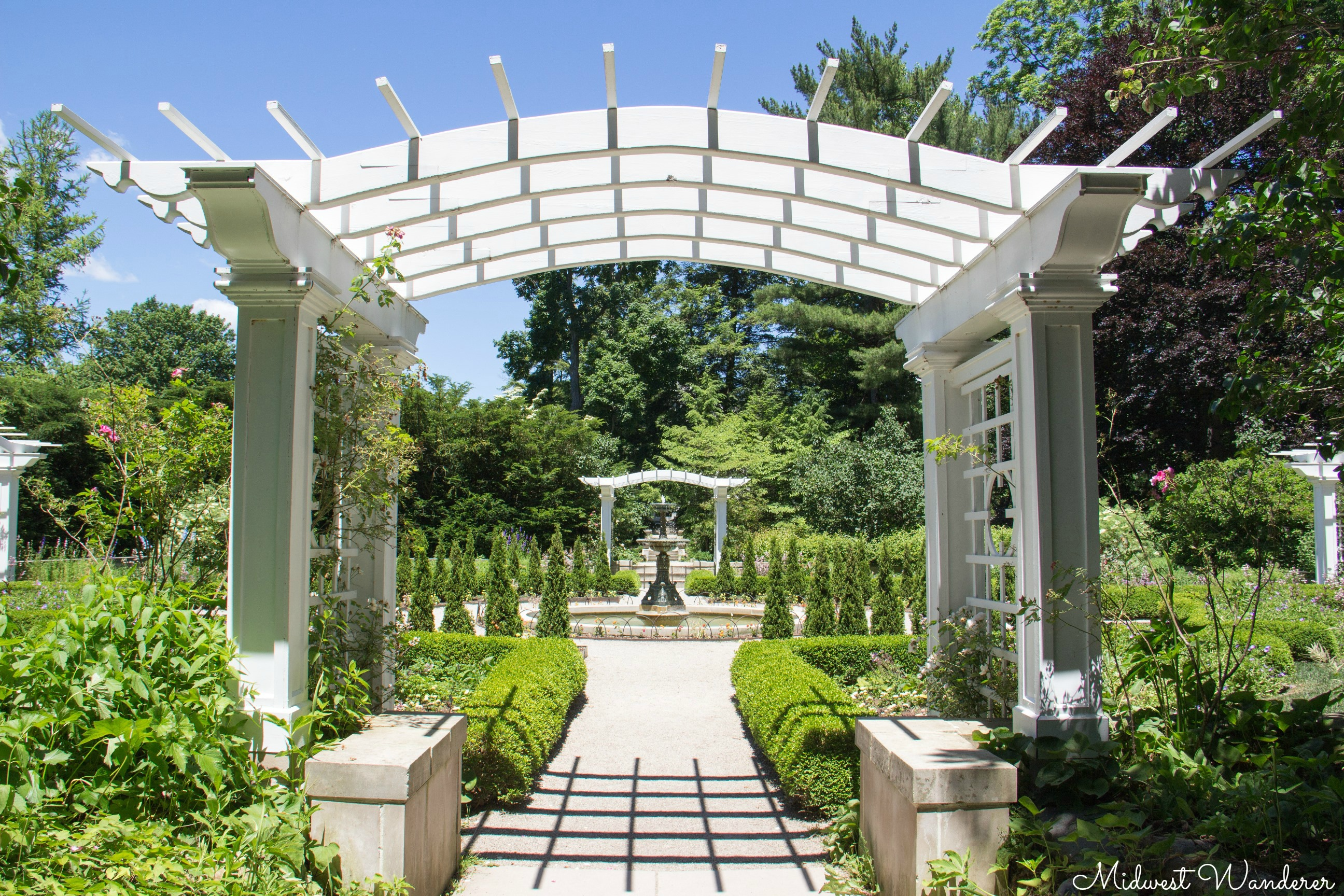 Formal garden - Indianapolis Museum of Art
