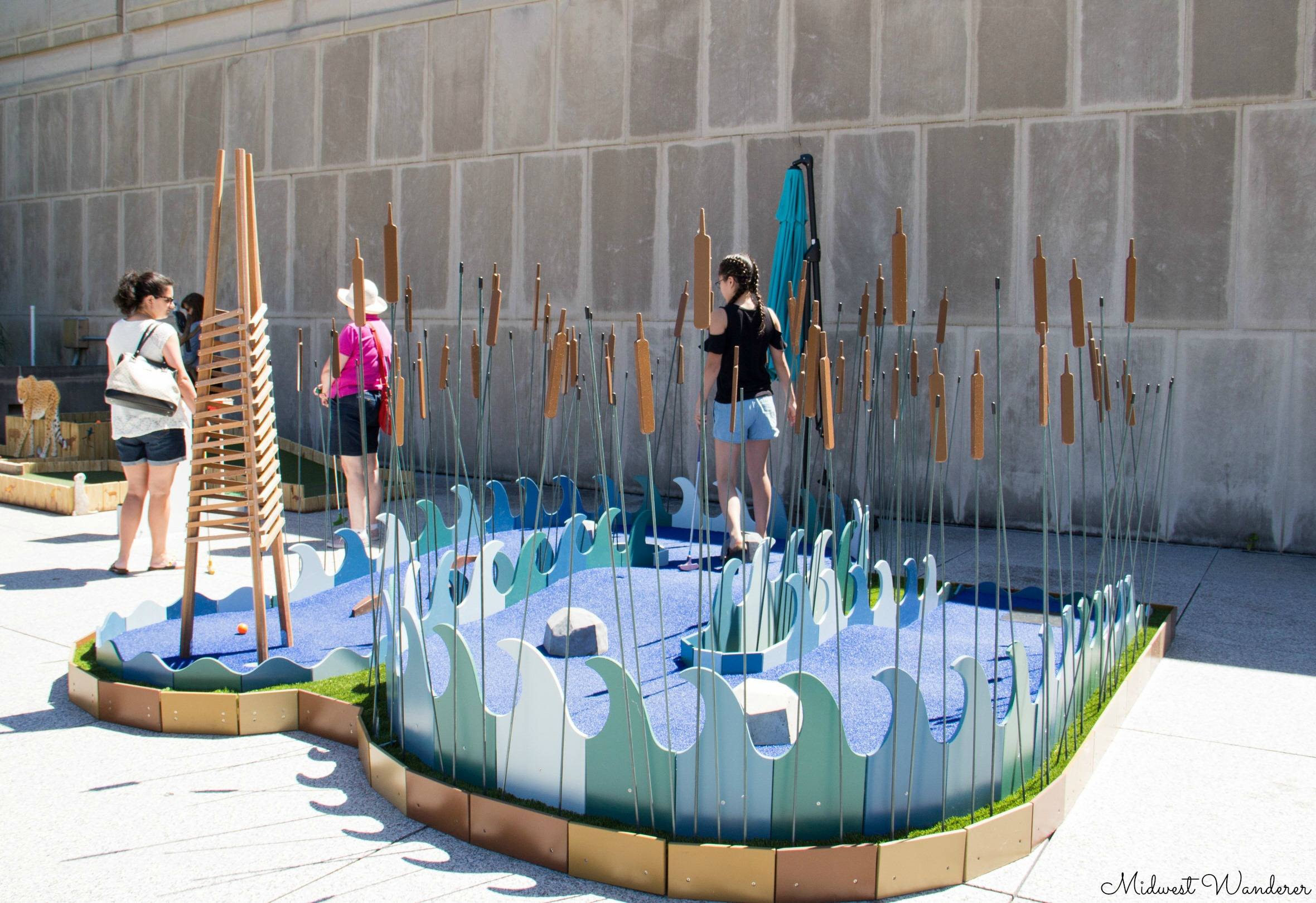 Mini Golf at the IMA - Water Play