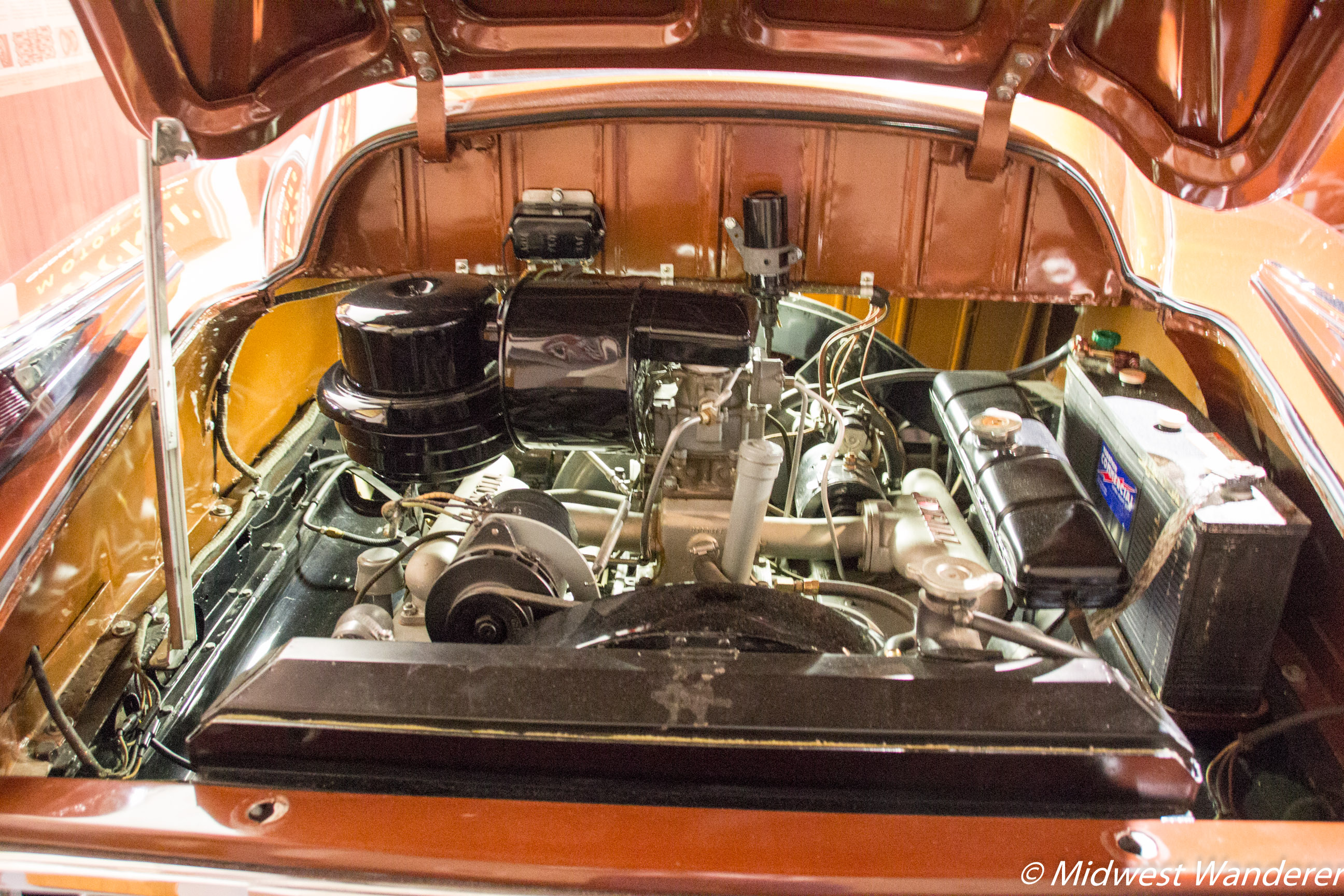 1948 Tucker #1026 Rear Engine Compartment