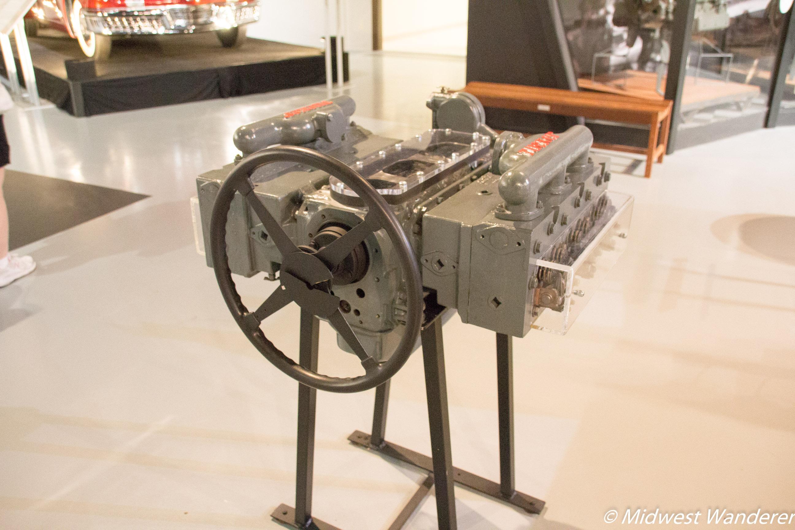 335 engine block