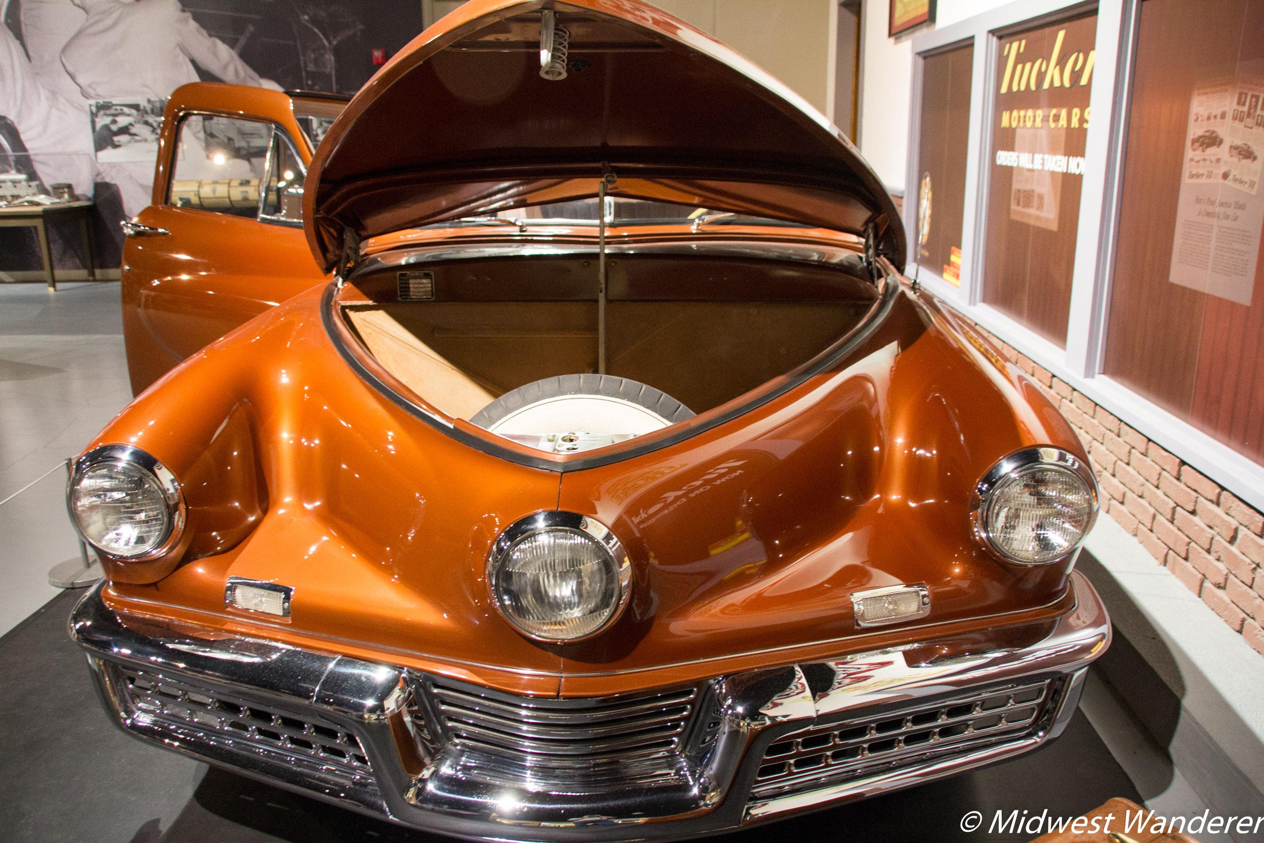 1948 Tucker #1026 Trunk