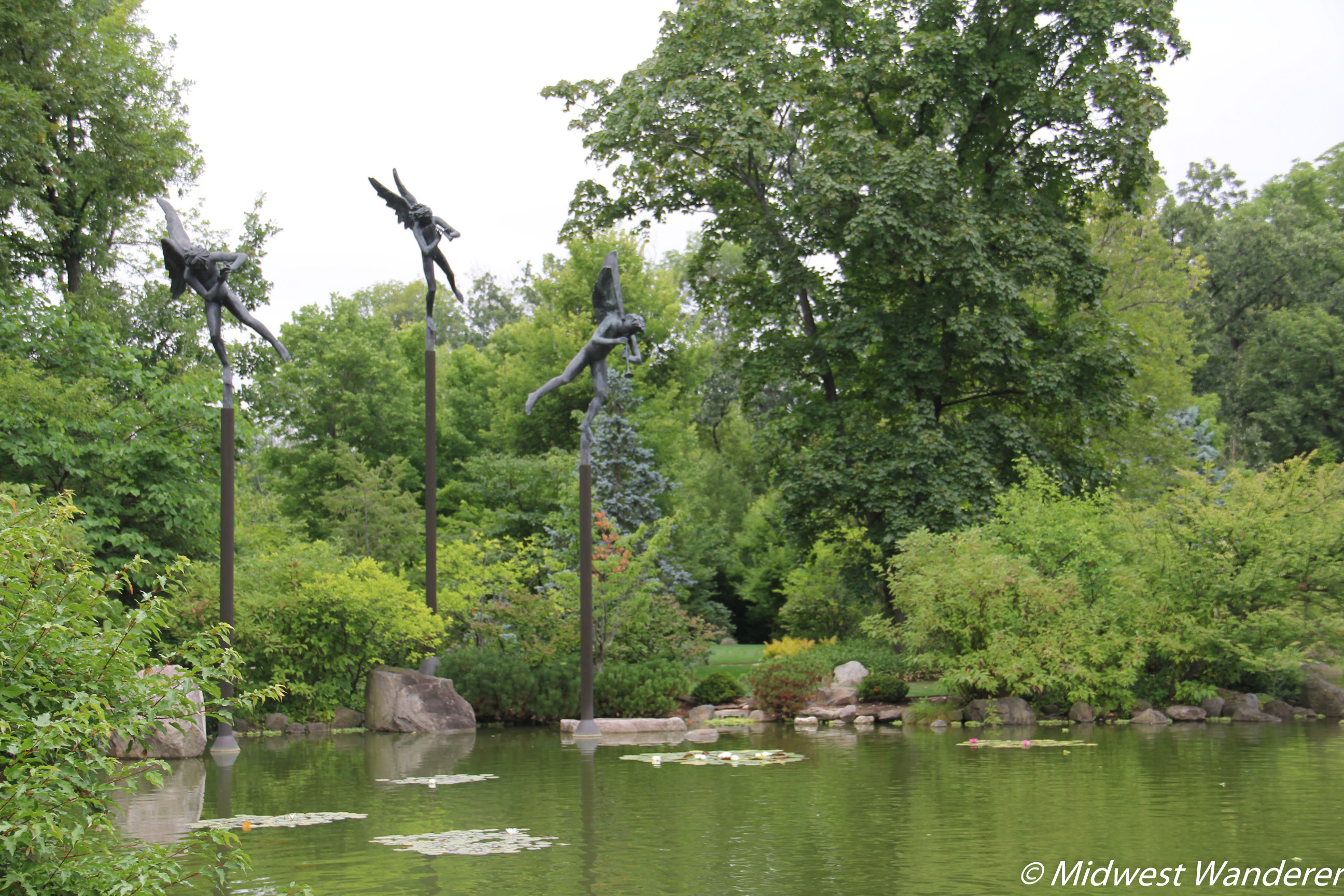 Anderson Japanese Gardens - Angels