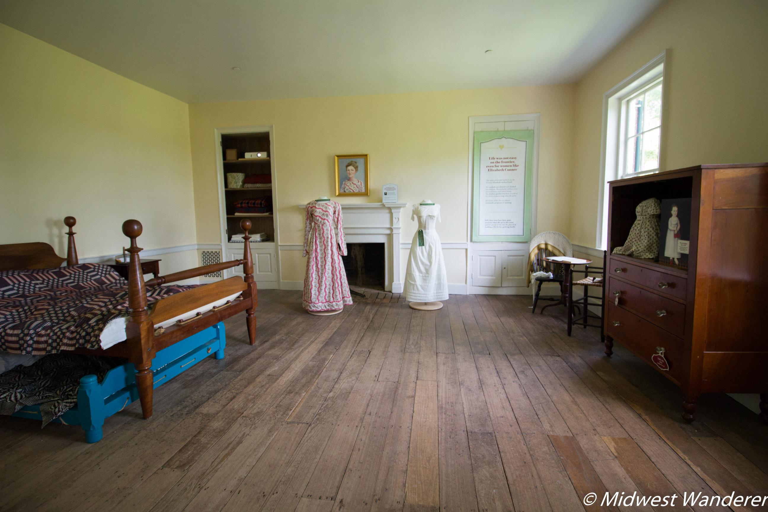 Conner Prairie House - Bedroom Two Full
