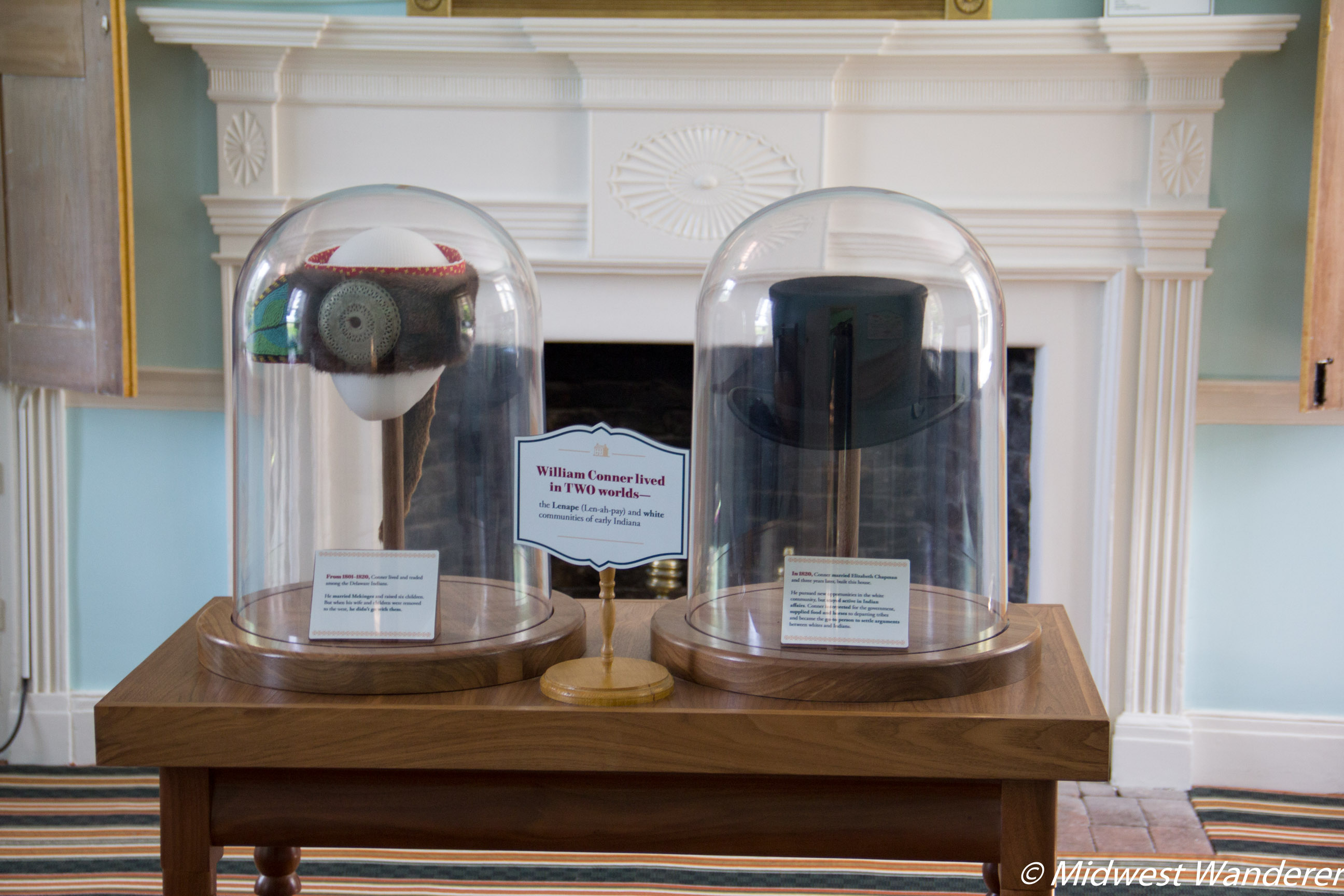 Conner Prairie House - Hats