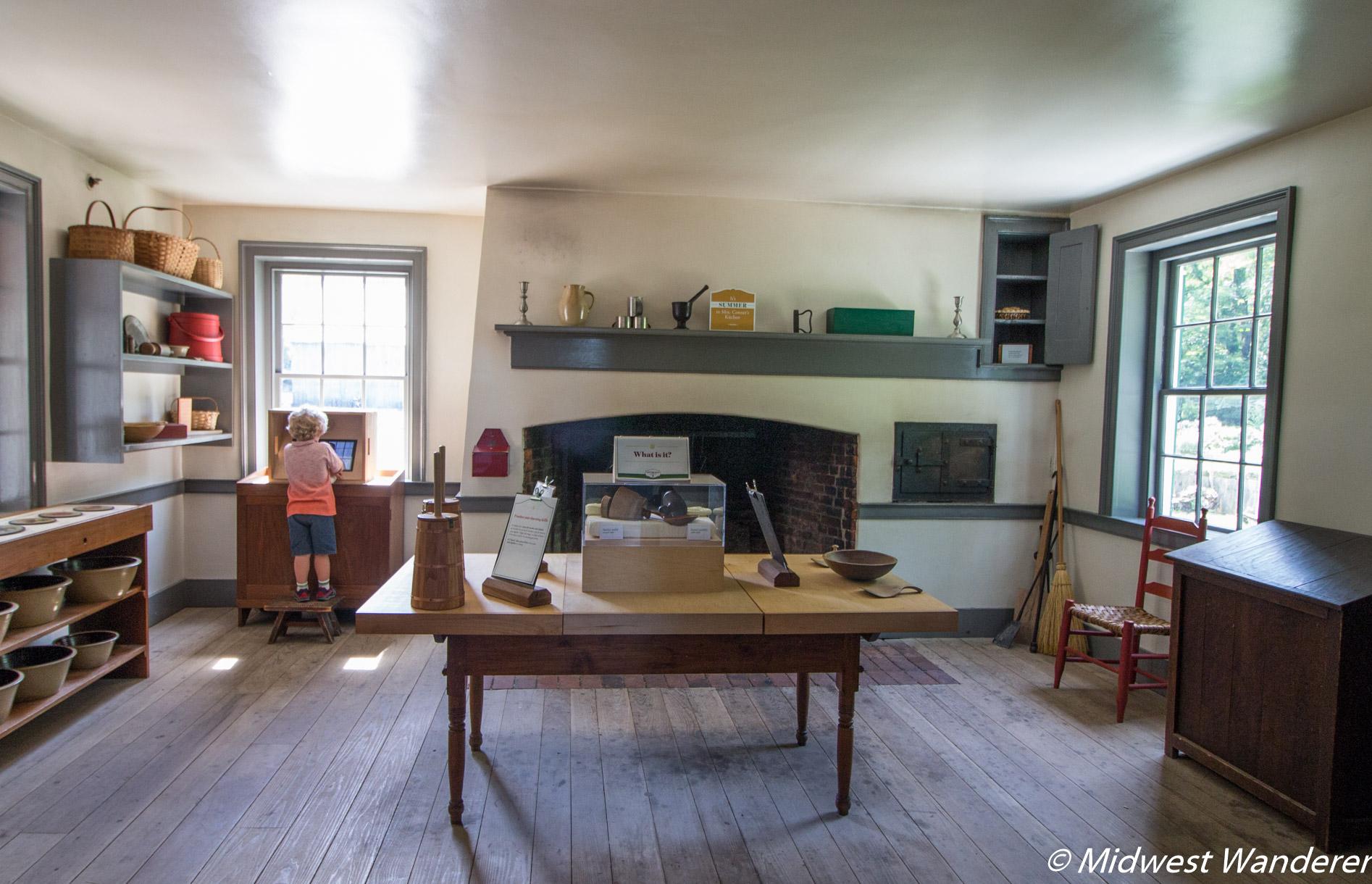 Conner Prairie House - Kitchen