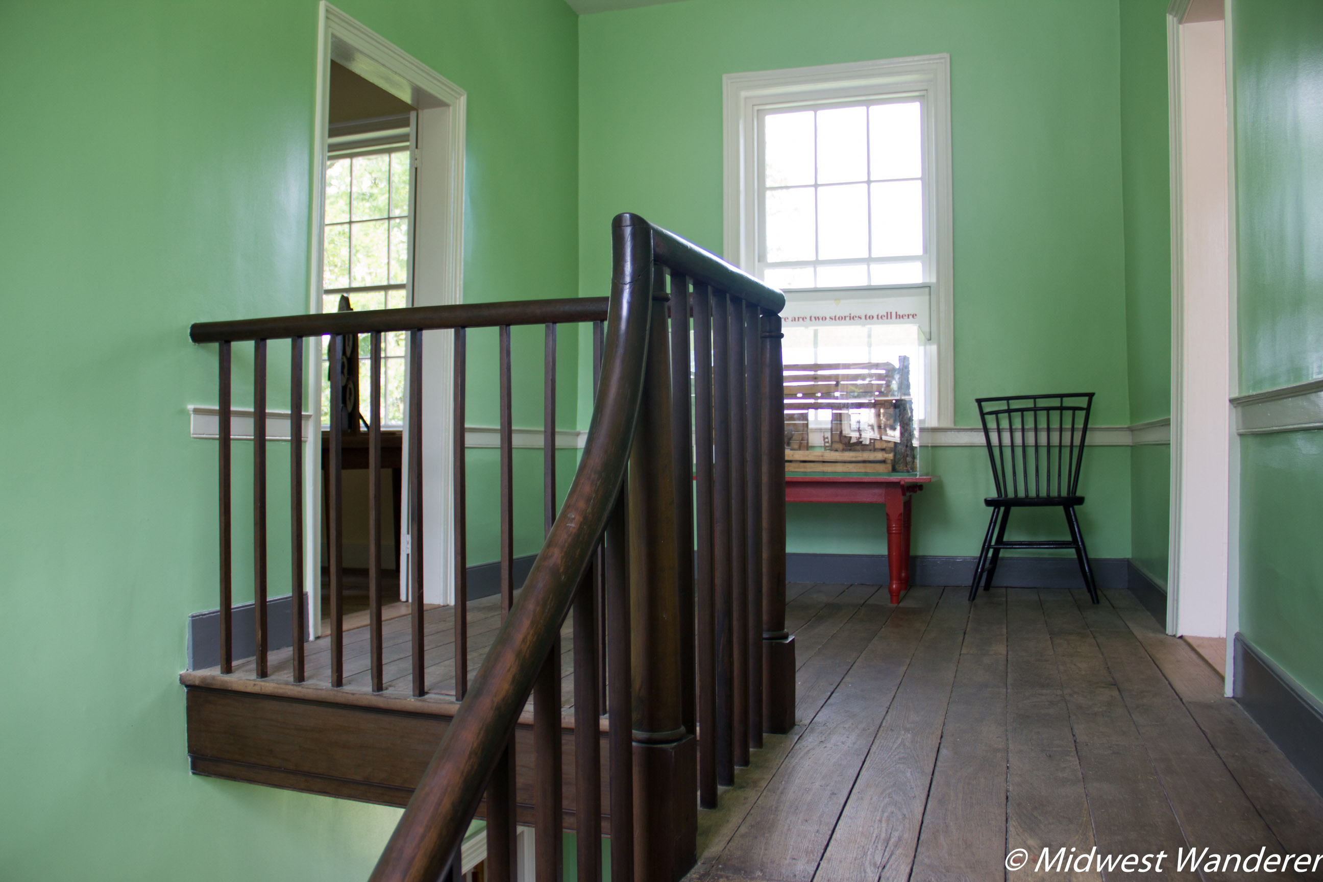 Conner Prairie House - Upstairs Landing