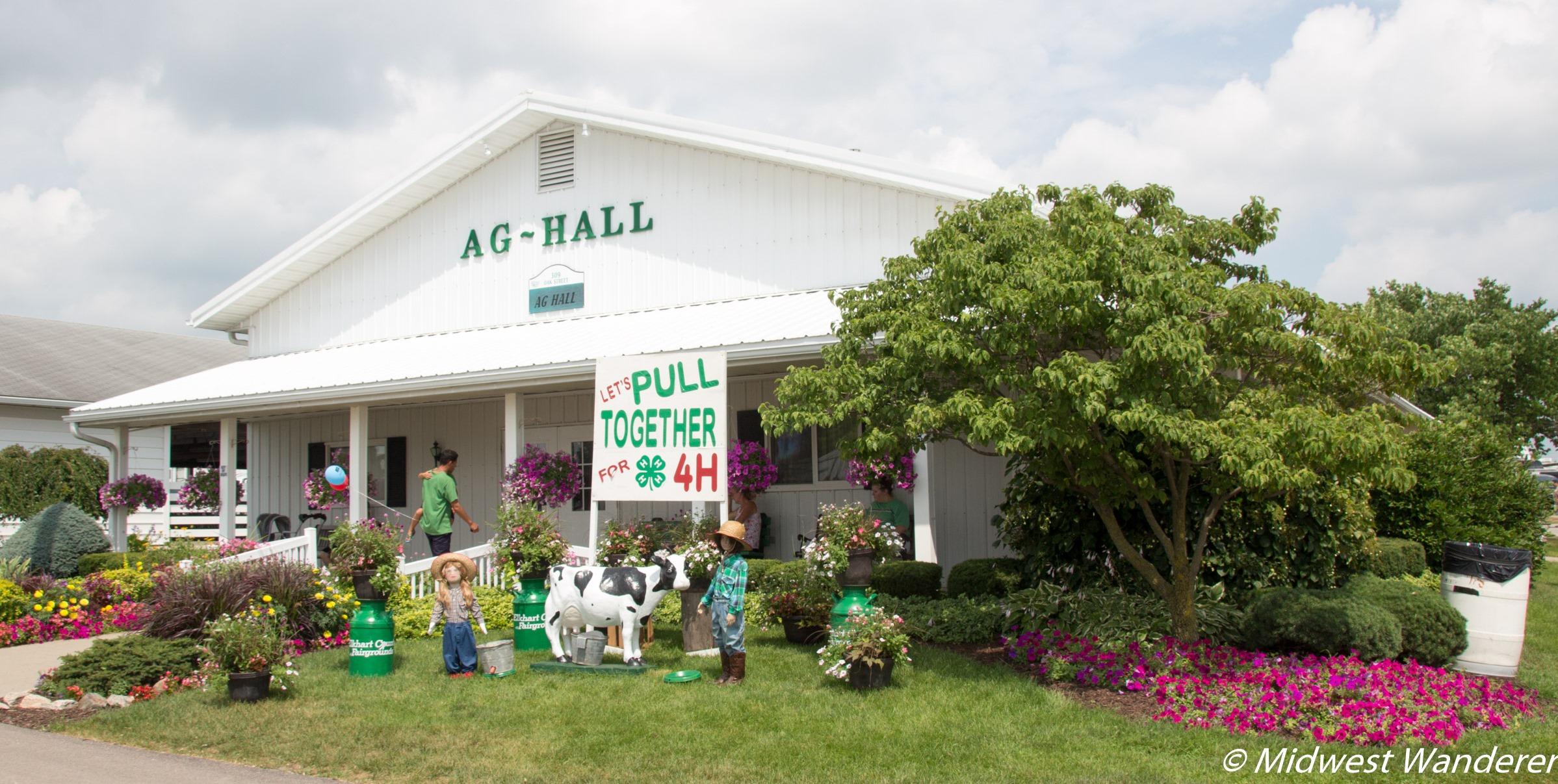 Elkhart County Fairgrounds Ag Hall
