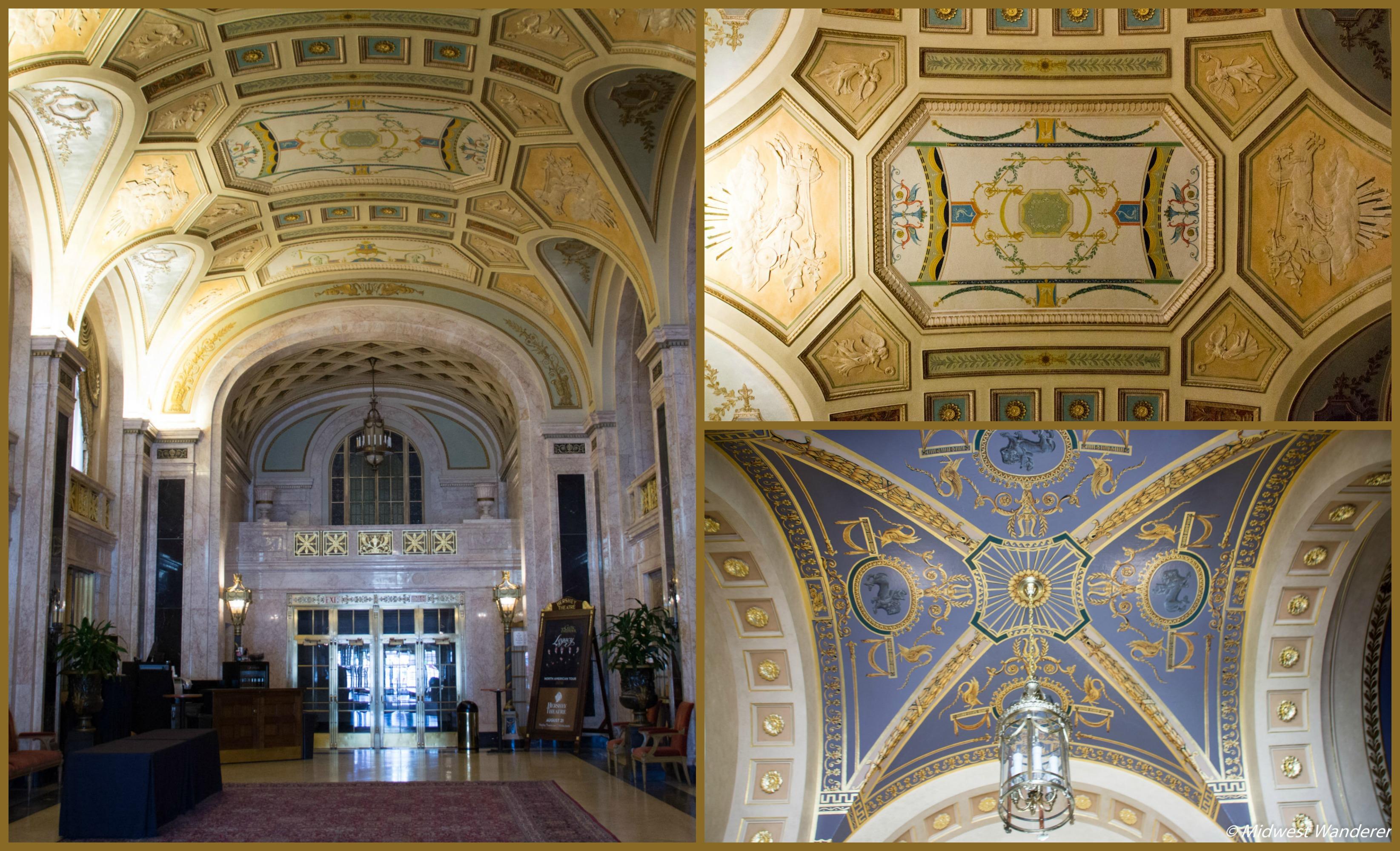 Hershey Theatre Grand Lobby