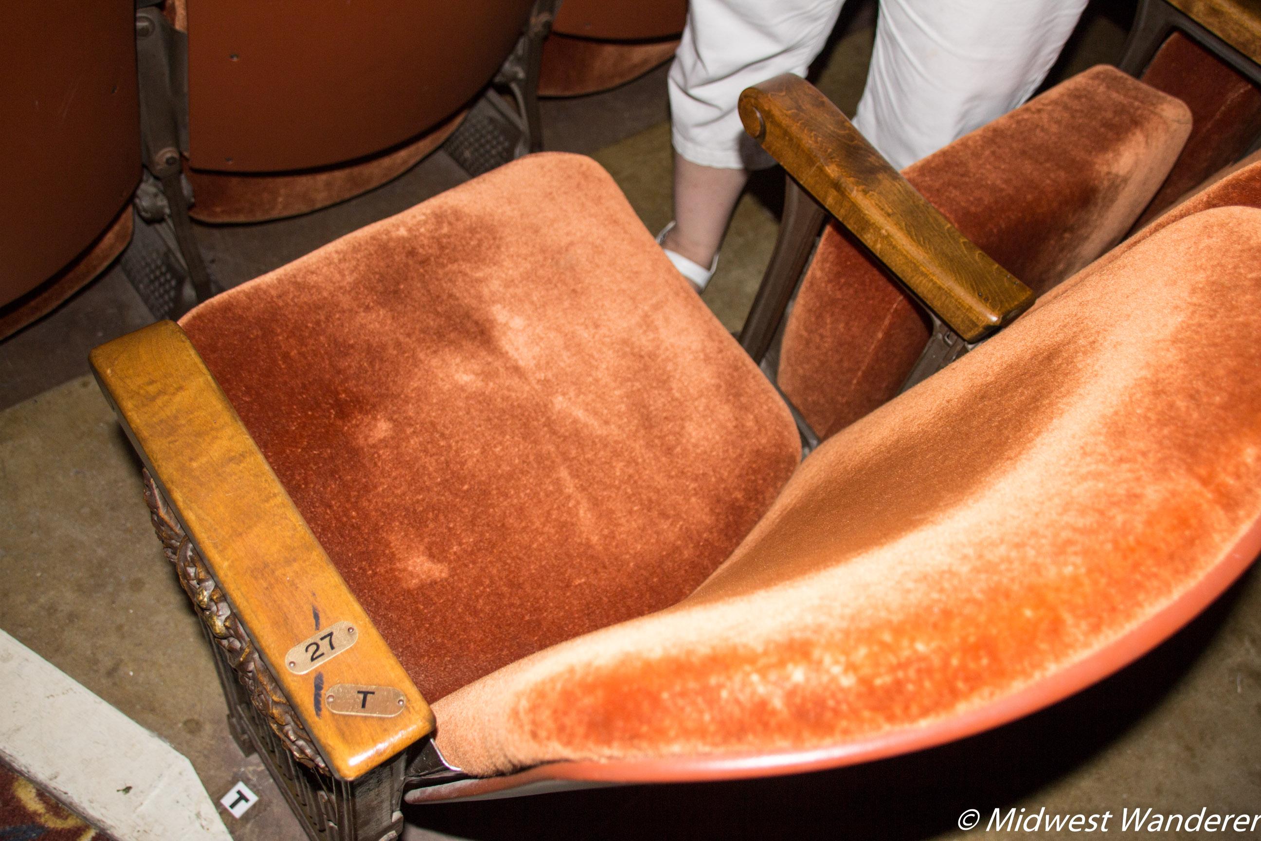 Hershey Theatre Seat T-27