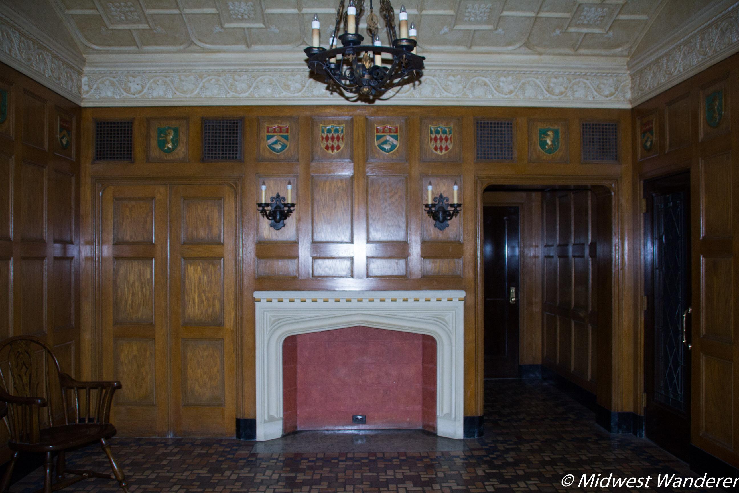 Hershey Theatre men's smoking room
